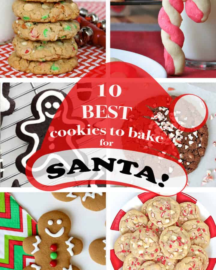 10 Best Cookies to Bake for Santa