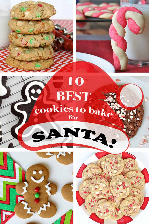 10 Best Cookies to Bake for Santa