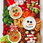 Holly Jolly Kid's Snack Board