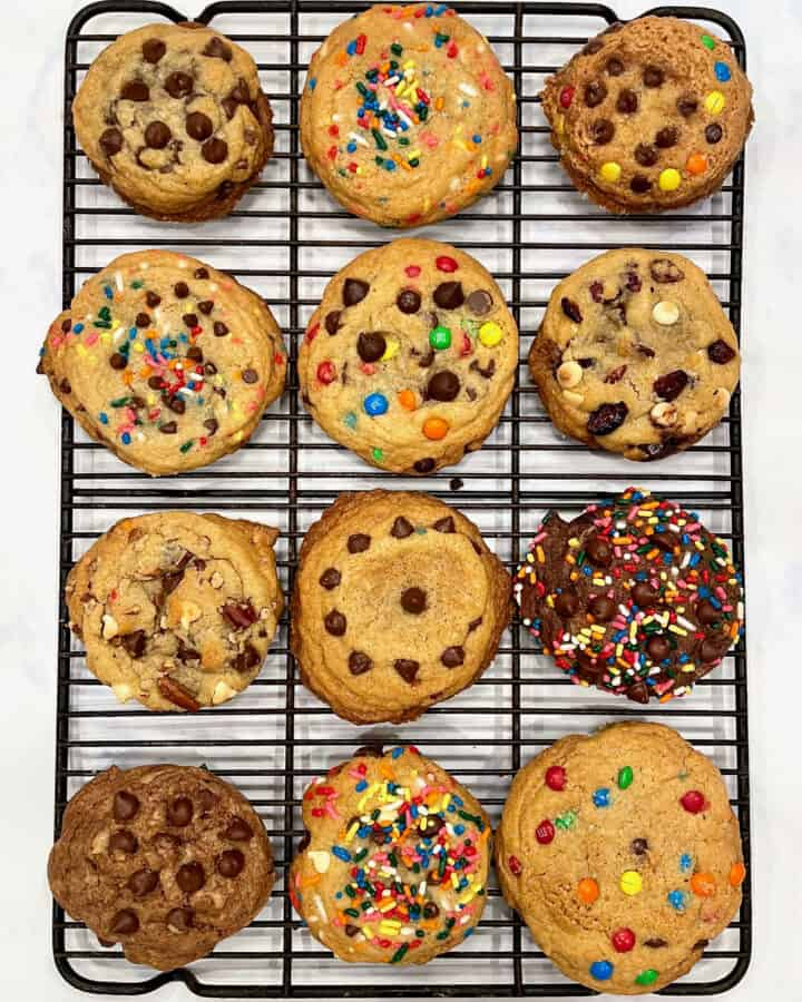 Mix Your Own Cookie Magic: One Cookie Dough Base, Endless Cookie Flavors