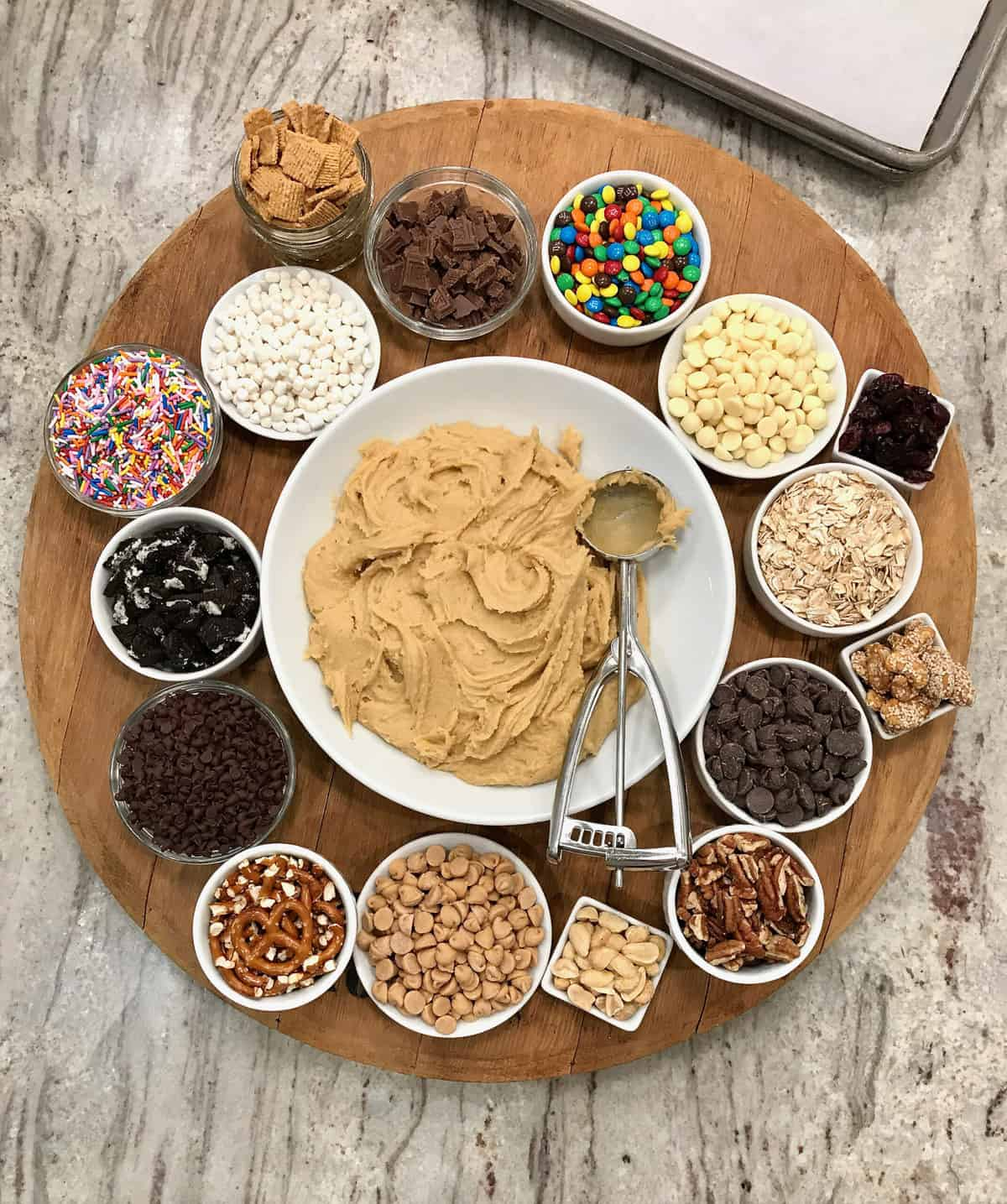 Mix Your Own Cookie Magic: One Cookie Dough Base, Endless Flavors