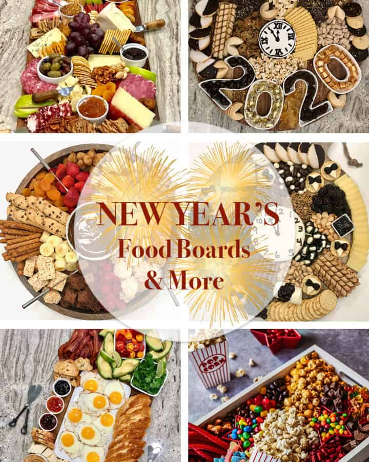 New Year's Food Boards and More by The BakerMama