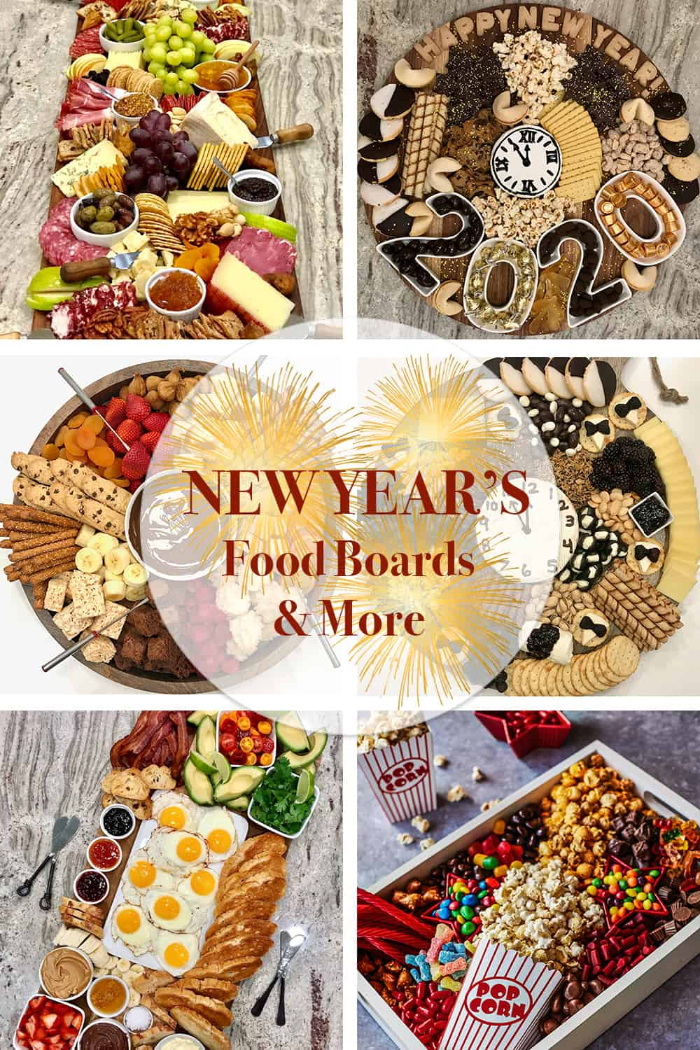 New Year's Food Boards & More by The BakerMama