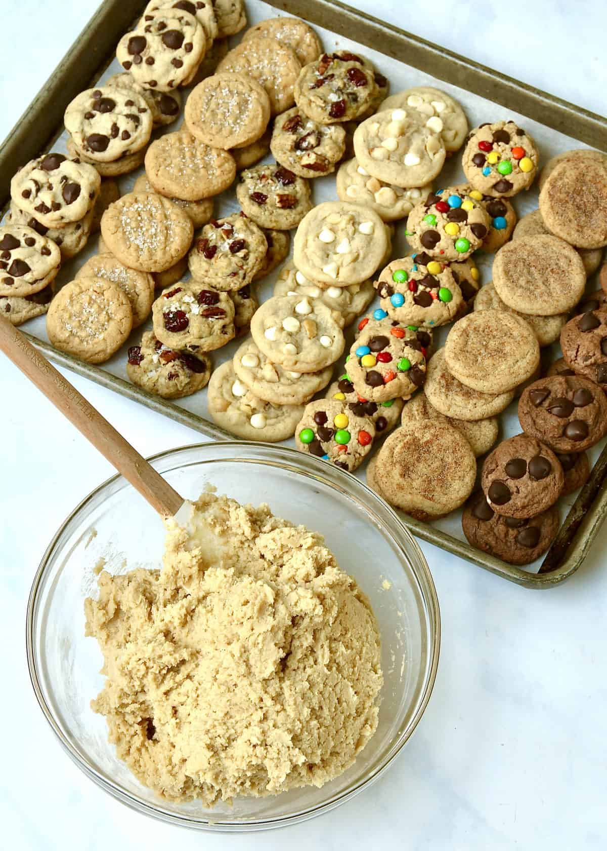 One Cookie Dough, Seven Possible Flavors