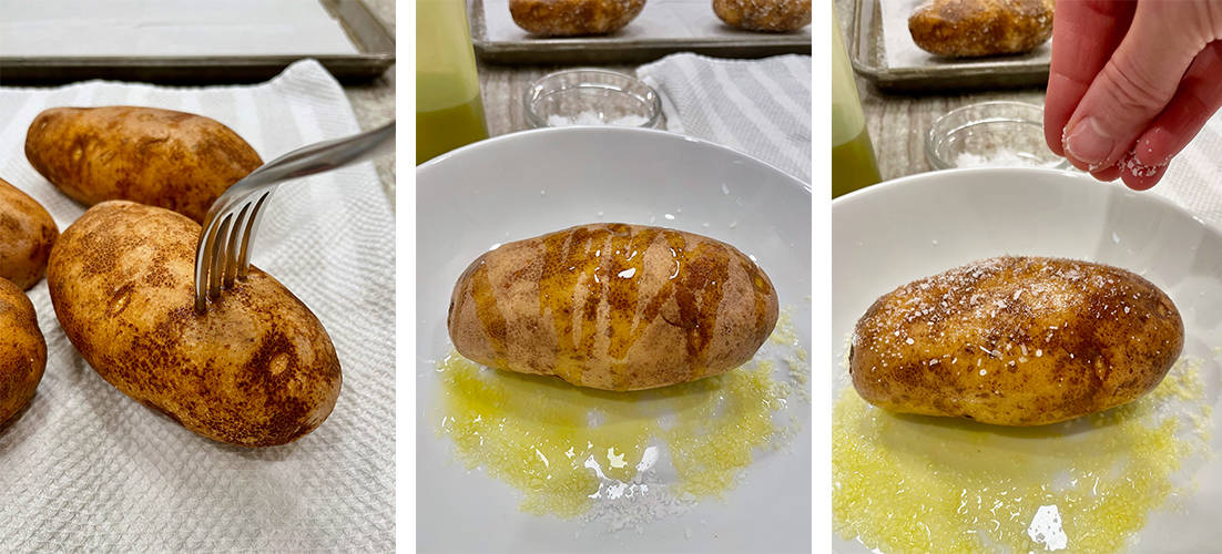 How to Bake a Potato by The BakerMama
