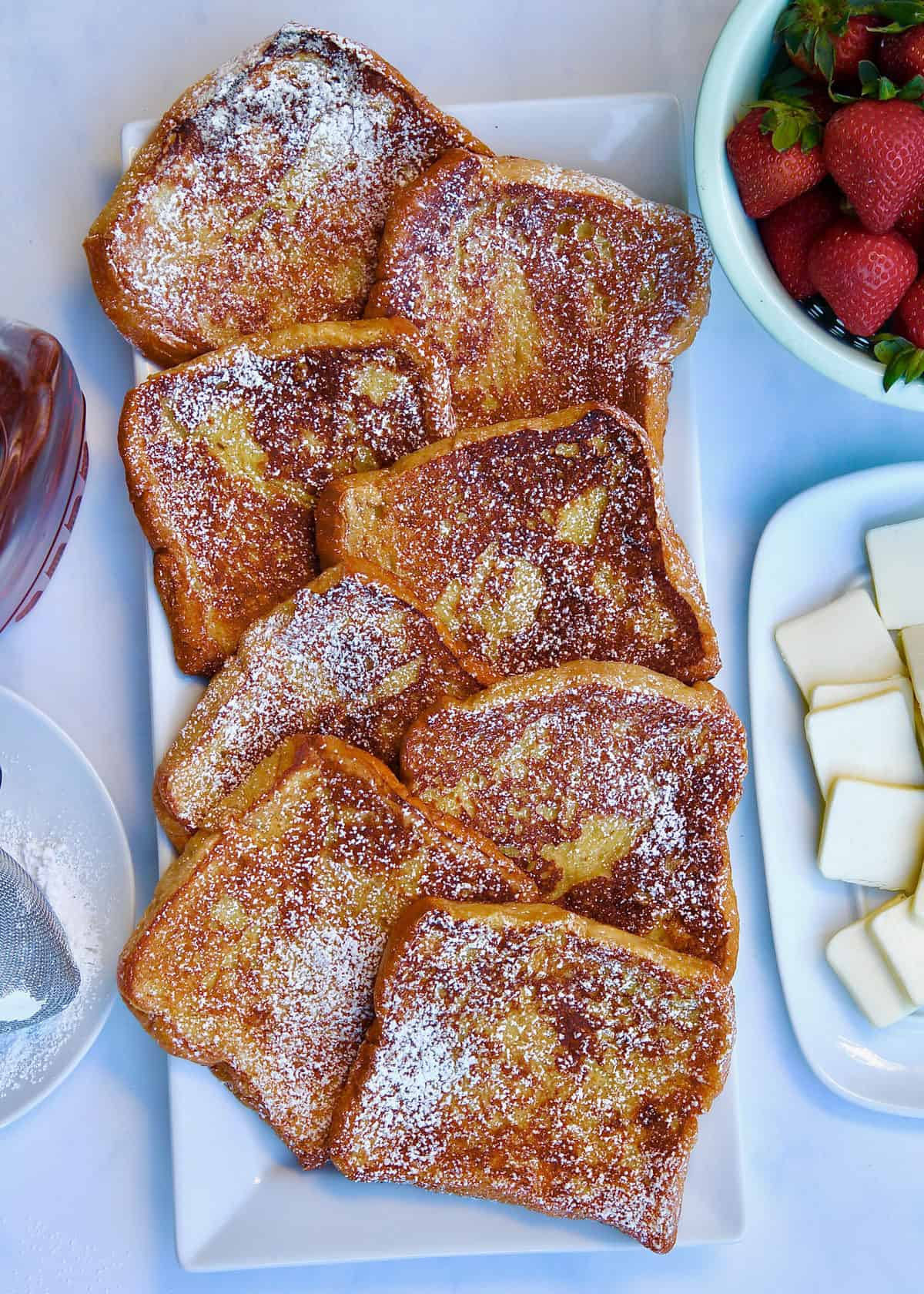 Classic French Toast by The BakerMama