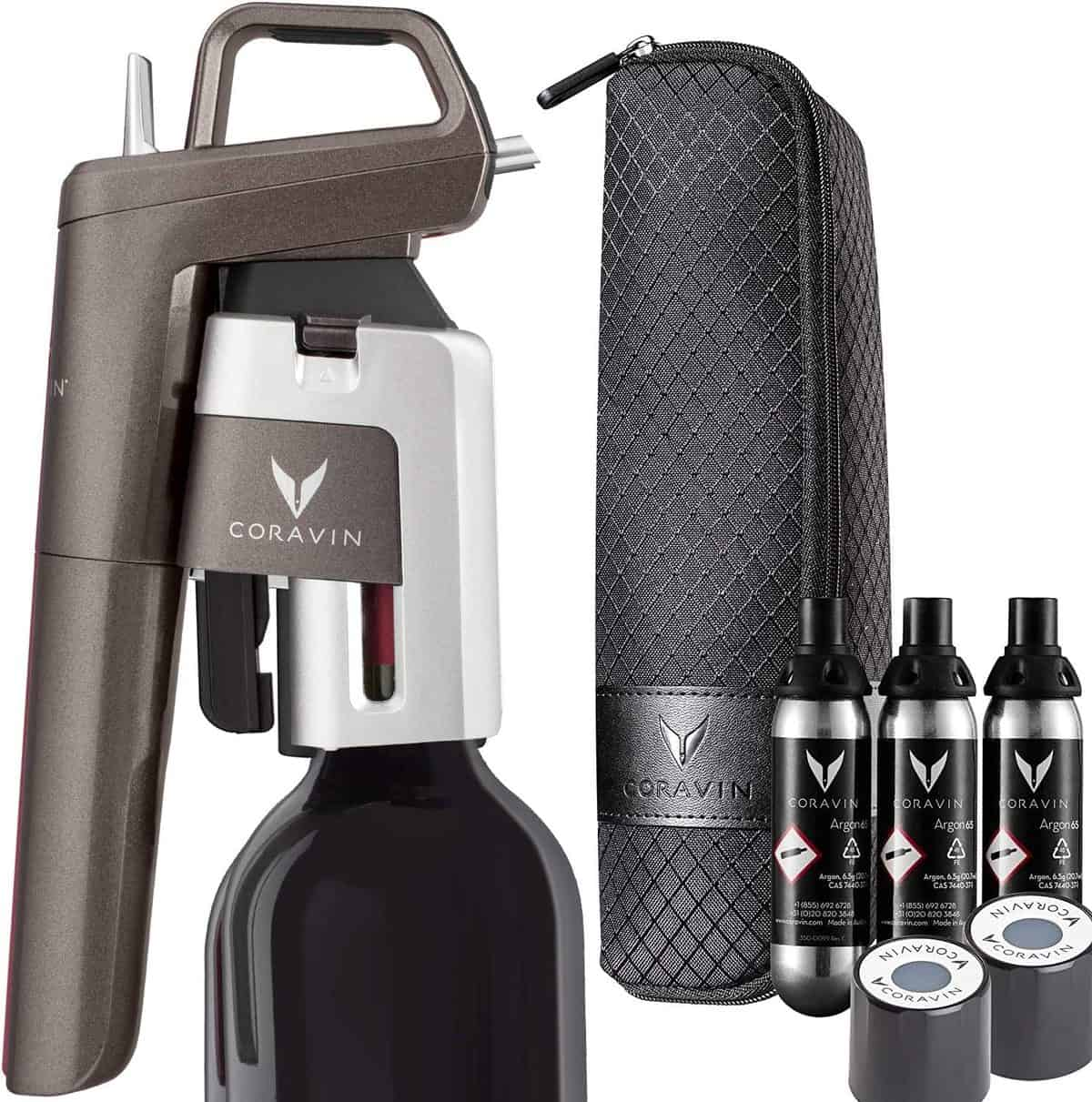 Coravin Advanced Wine Bottle Opener and Preservation System