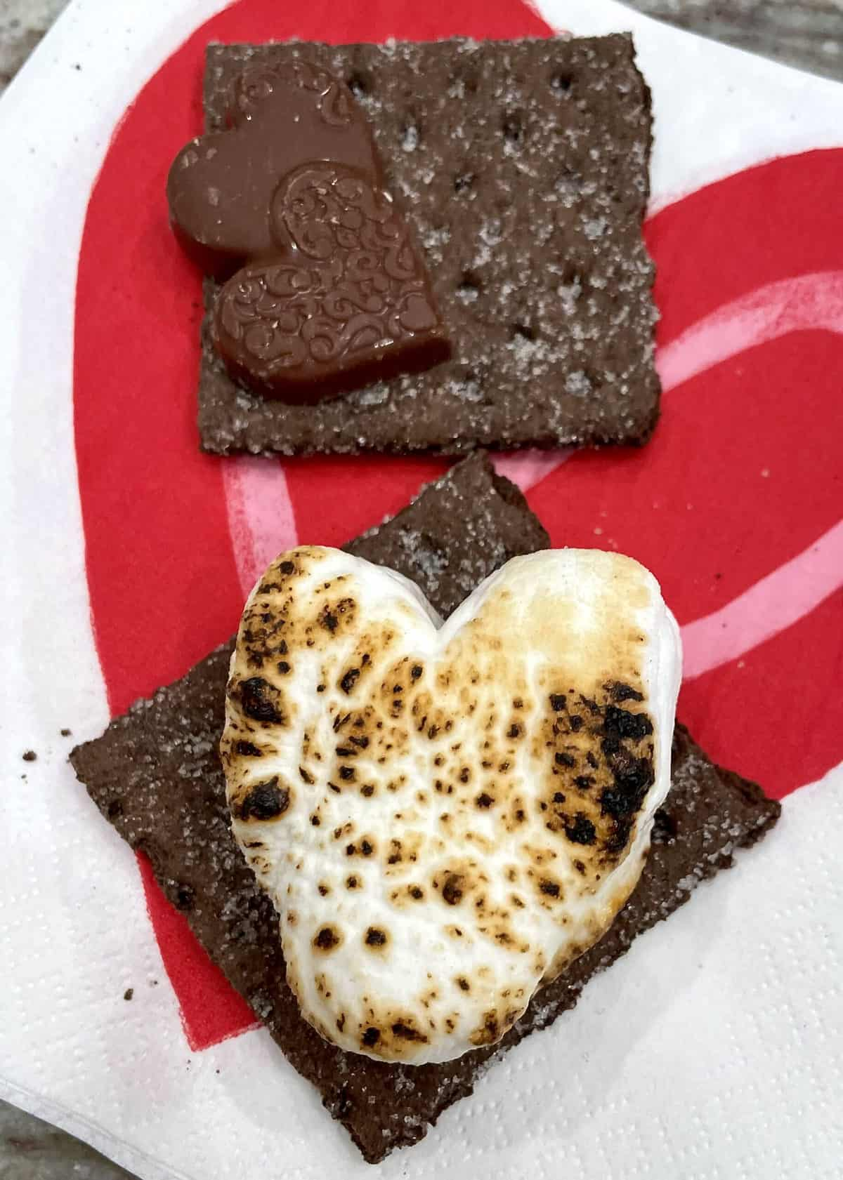 Valentine's Day S'mores Tray by The BakerMama
