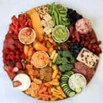 Eat the Rainbow Snack Board by The BakerMama