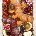Valentine's Day Pancake Board