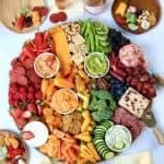 Eat the Rainbow Snack Board