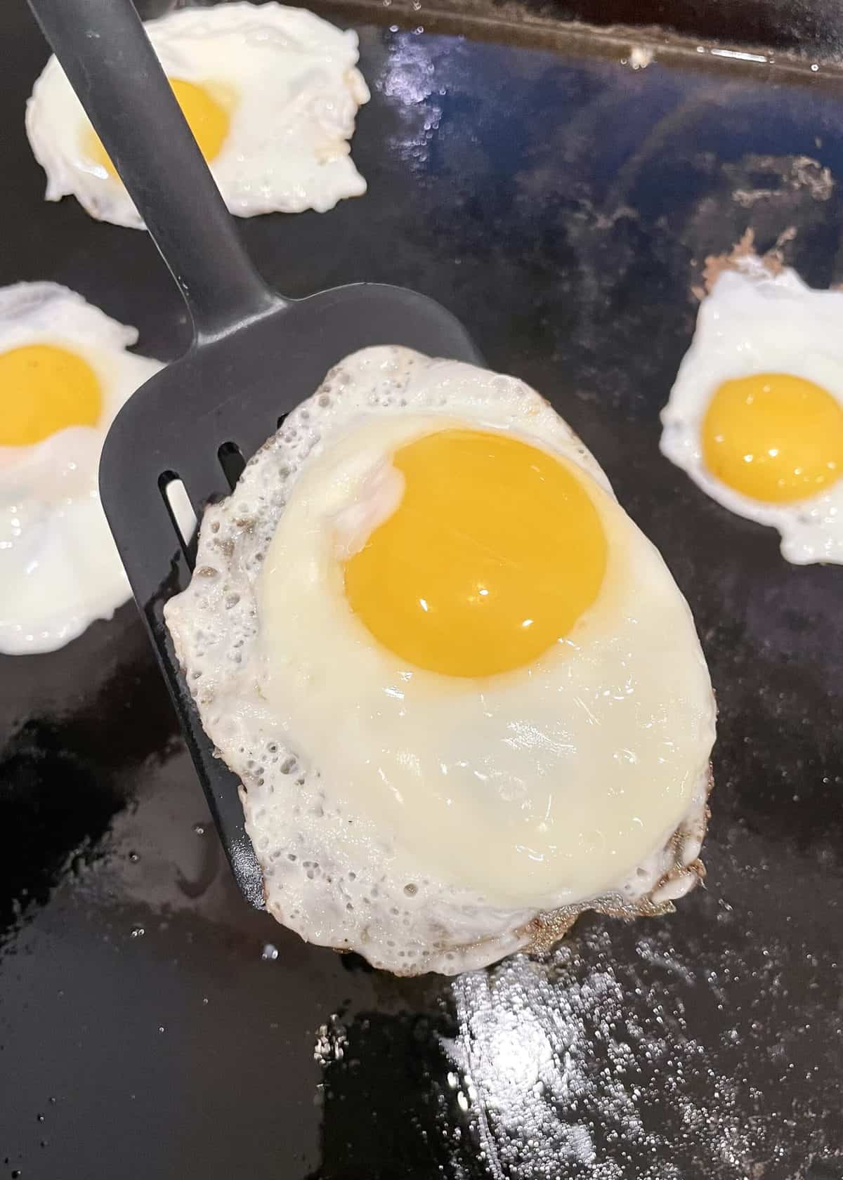 Sunny Side Up Eggs By The BakerMama