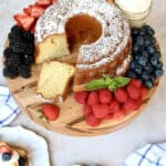 SuSu's Sour Cream Pound Cake