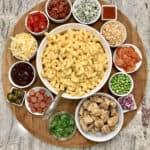 Mac & Cheese Board