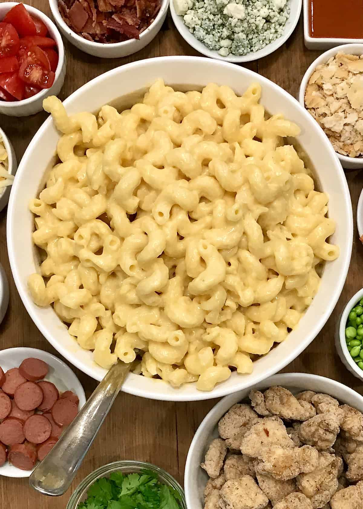Mac & Cheese Board by The BakerMama