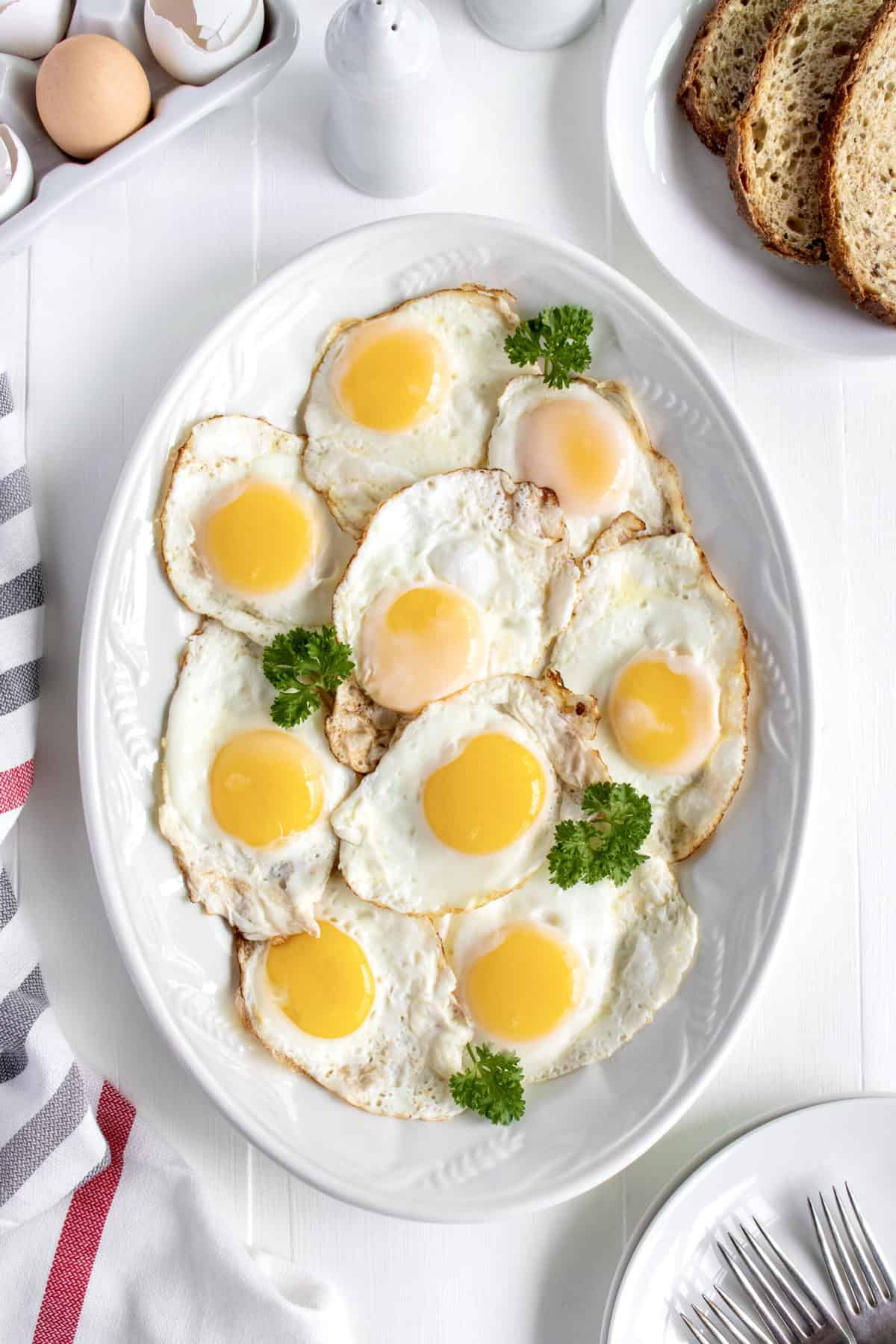 Basics by The BakerMama: How to Cook Sunny-Side-Up Eggs