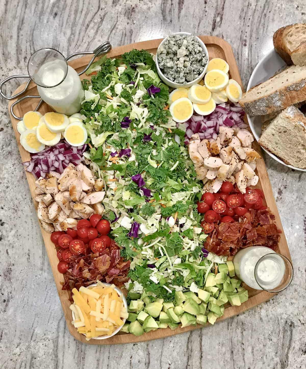 Cobb Salad Board by TheBakerMama