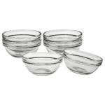"""3"""" Glass Pinch Bowl Set"""