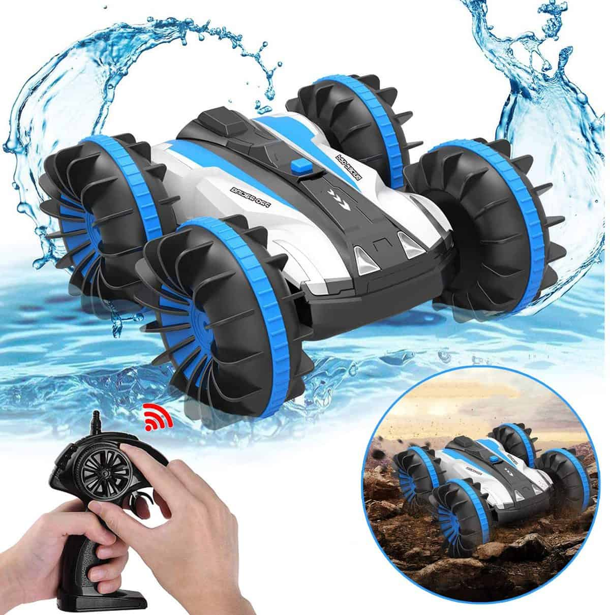 Land and Water Remote Control Car