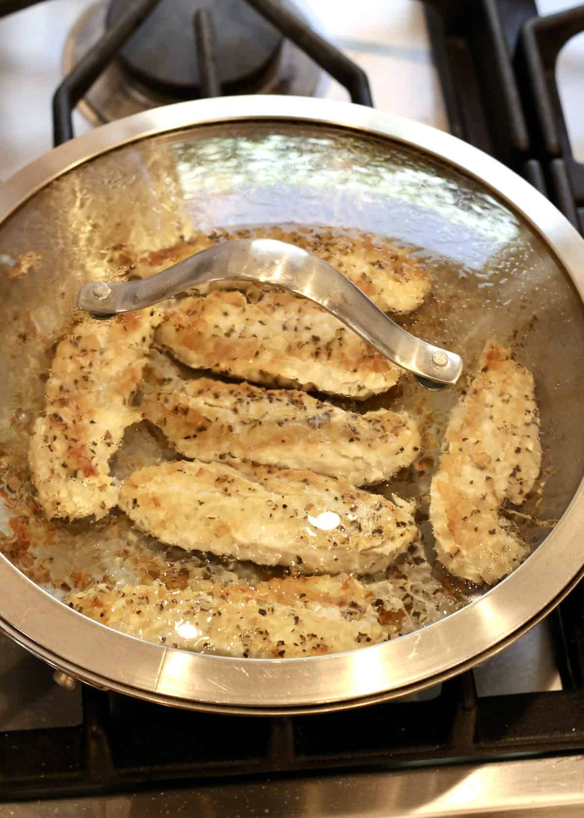 Pan-Seared Chicken by The BakerMama