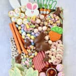 Bunny Treats Board by The BakerMama