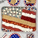 Star-Spangled S'mores Tray