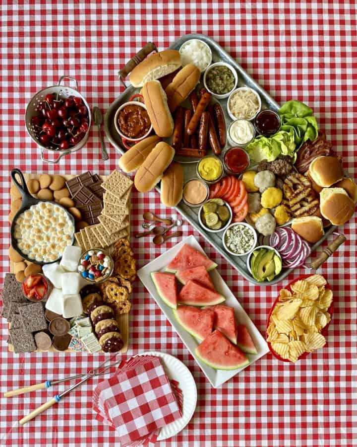 The Ultimate Summer Cookout Spread by The BakerMama