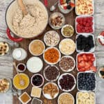 Top-Your-Own Oatmeal Board