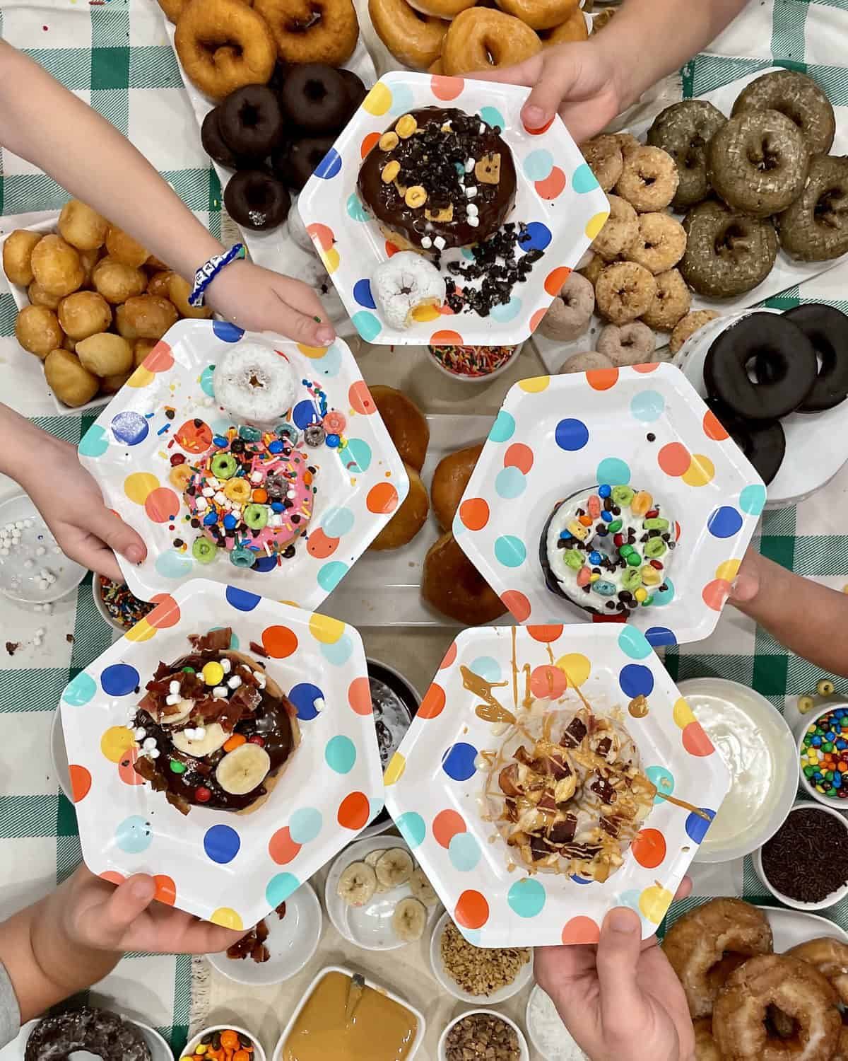 Decorate-Your-Own Donut Spread