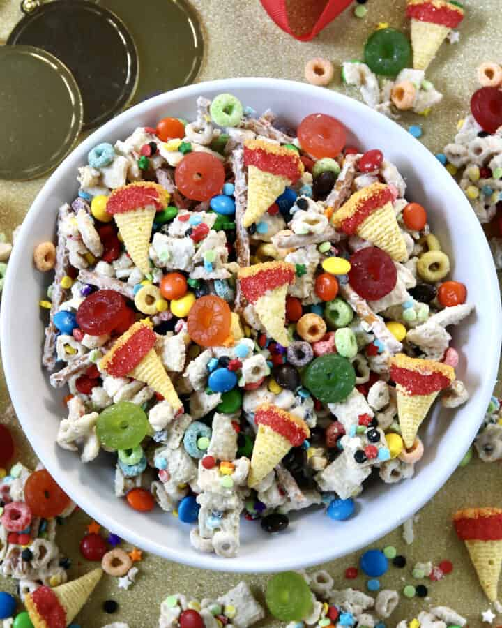 Olympics Snack Mix by The BakerMama