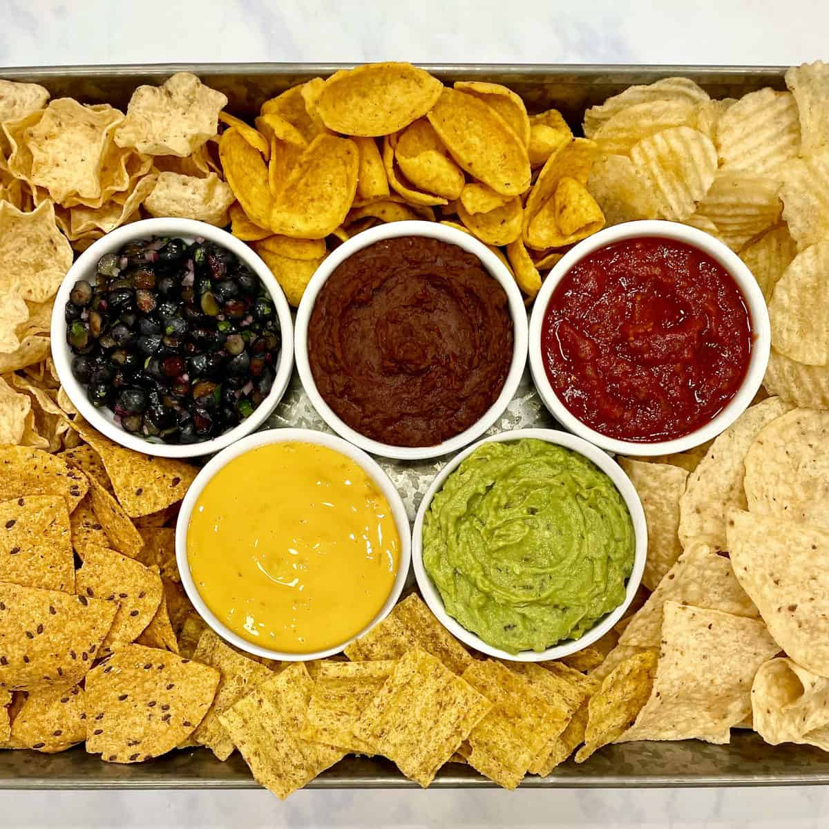 Olympics Chips and Dips Tray