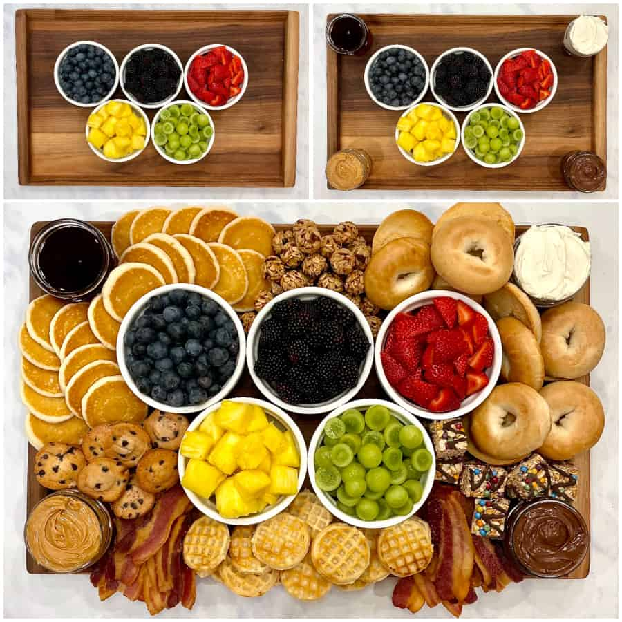 Olympics Breakfast Board by The BakerMama