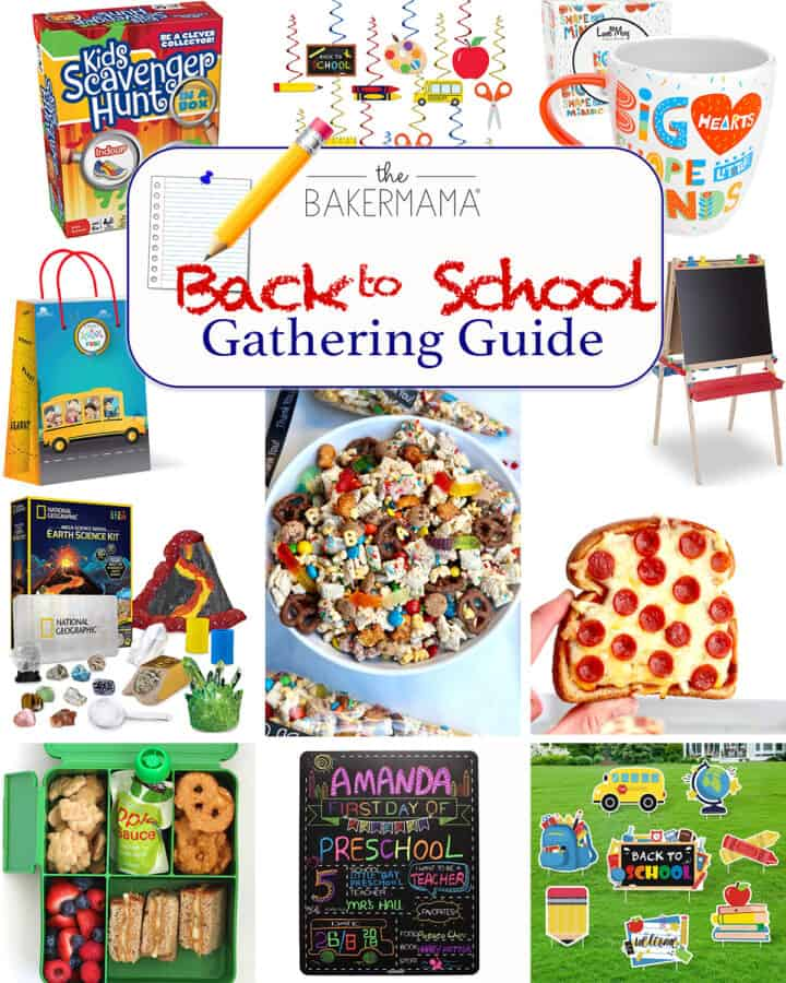 Back to School Gathering Guide