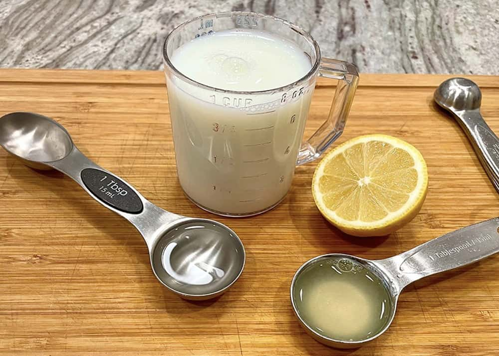 How to make buttermilk by The BakerMama