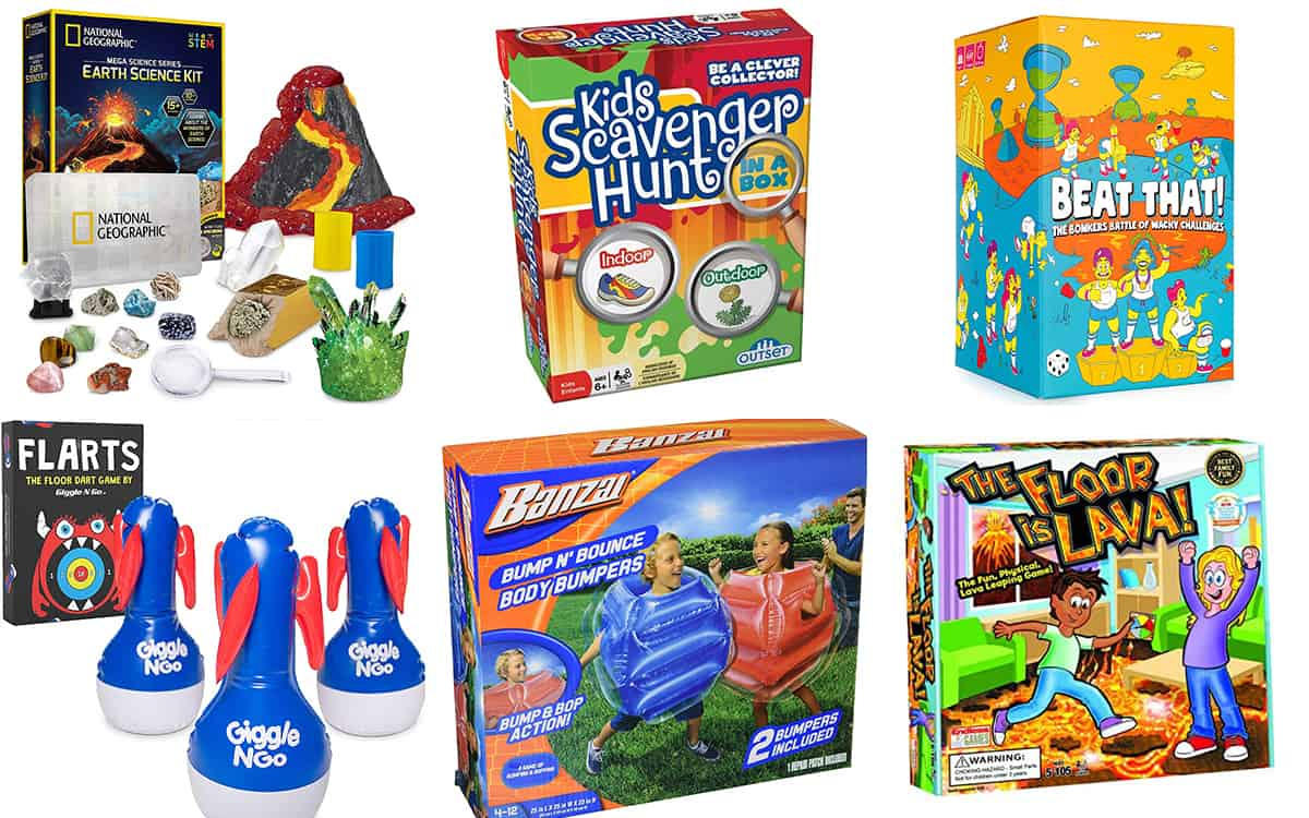 Games for the Back to School Gathering Guide by The BakerMama