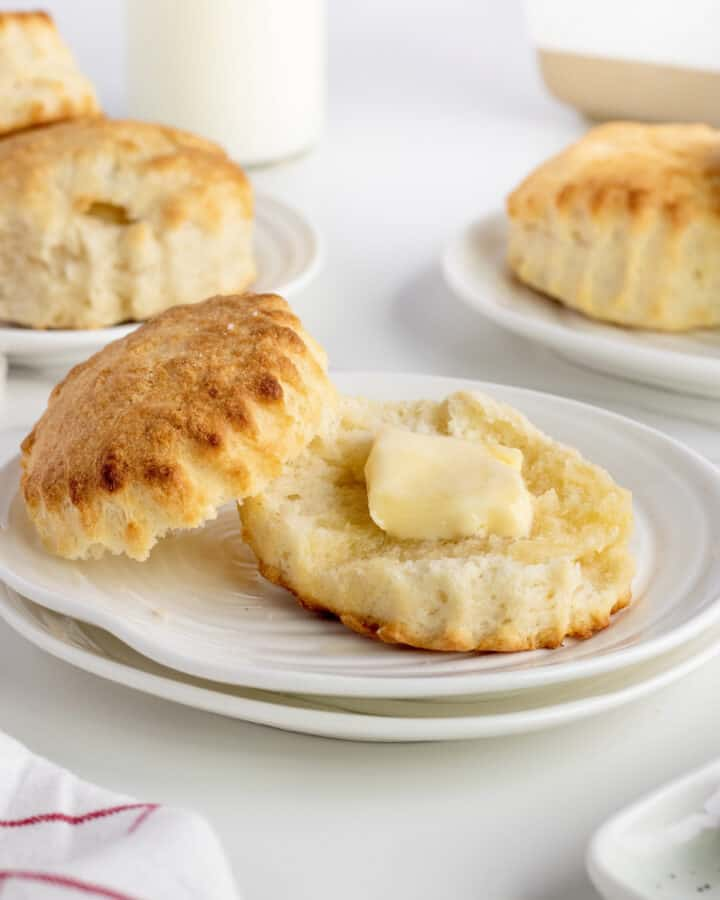 Homestyle Buttermilk Biscuits by The BakerMama