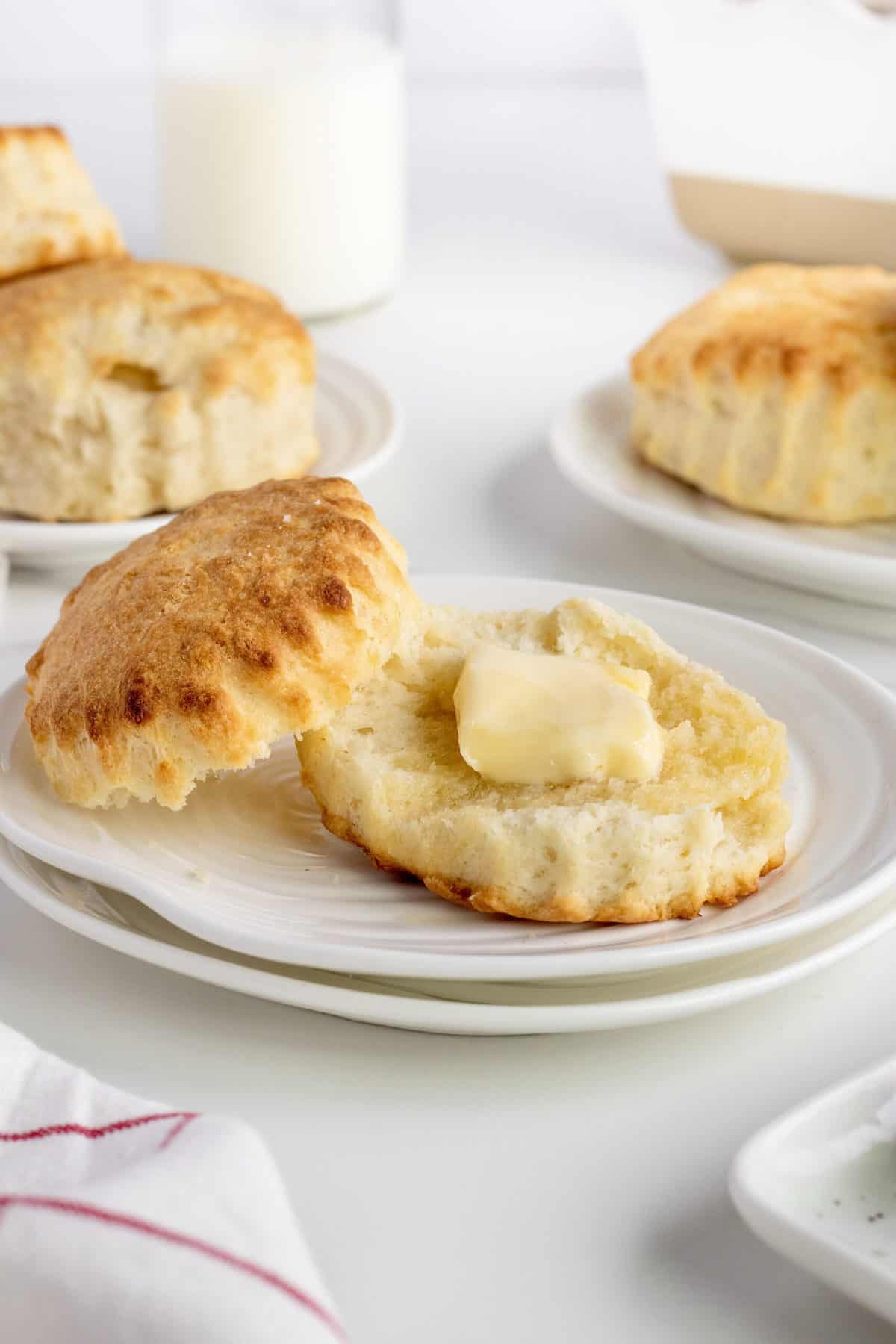 Perfect Buttermilk Biscuits by The BakerMama