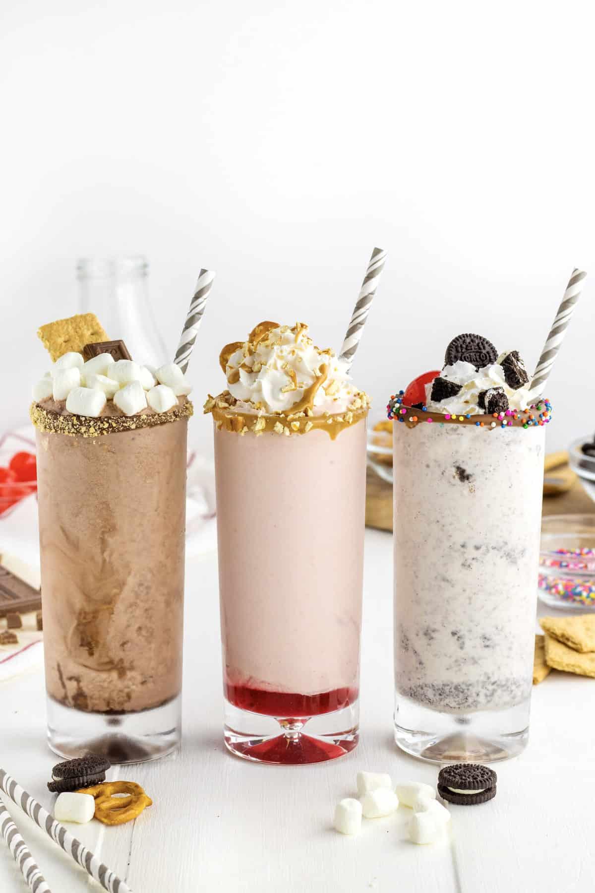 Three Spectacular Milkshake Recipes by The BakerMama