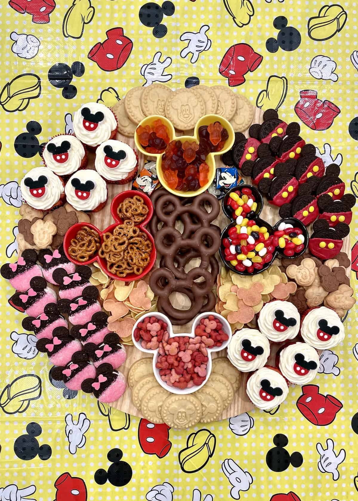 Mickey Mouse Snack Board by The BakerMama