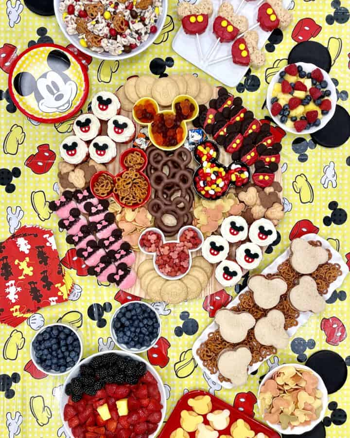 Mickey Mouse Party Spread by The BakerMama