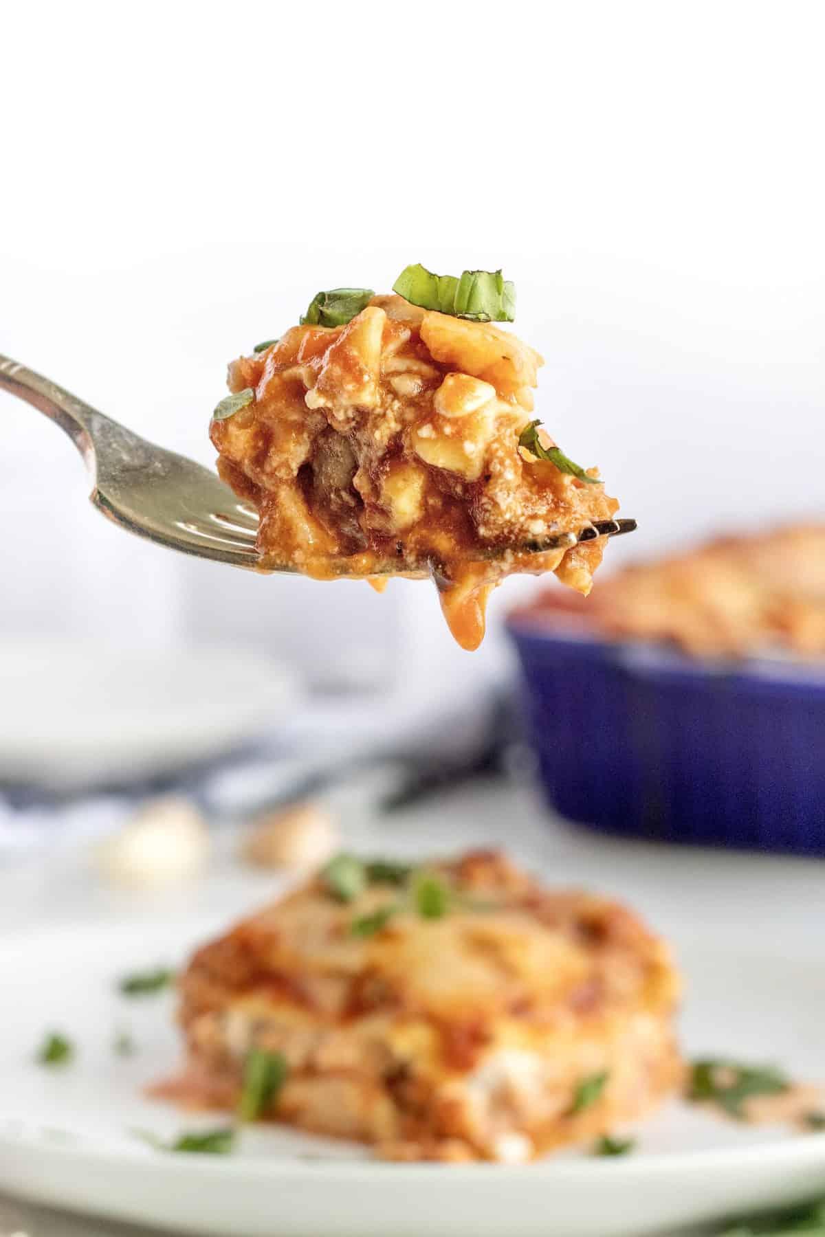 Turkey Lasagna by The BakerMama