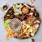 Kid-Friendly Halloween Snack Board