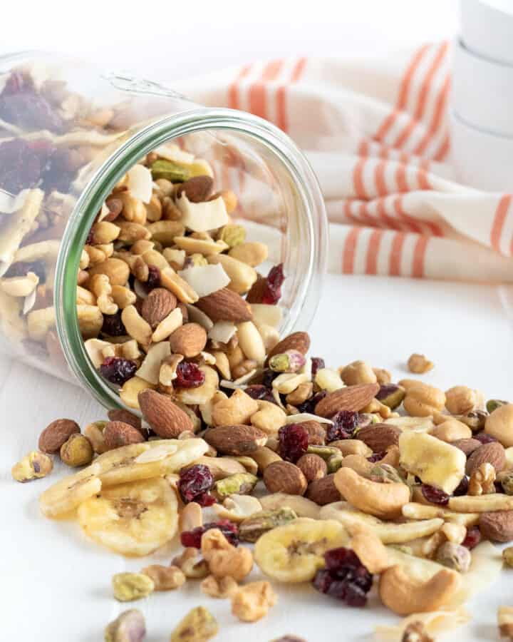 Healthy On-the-Go Trail Mix by The BakerMama