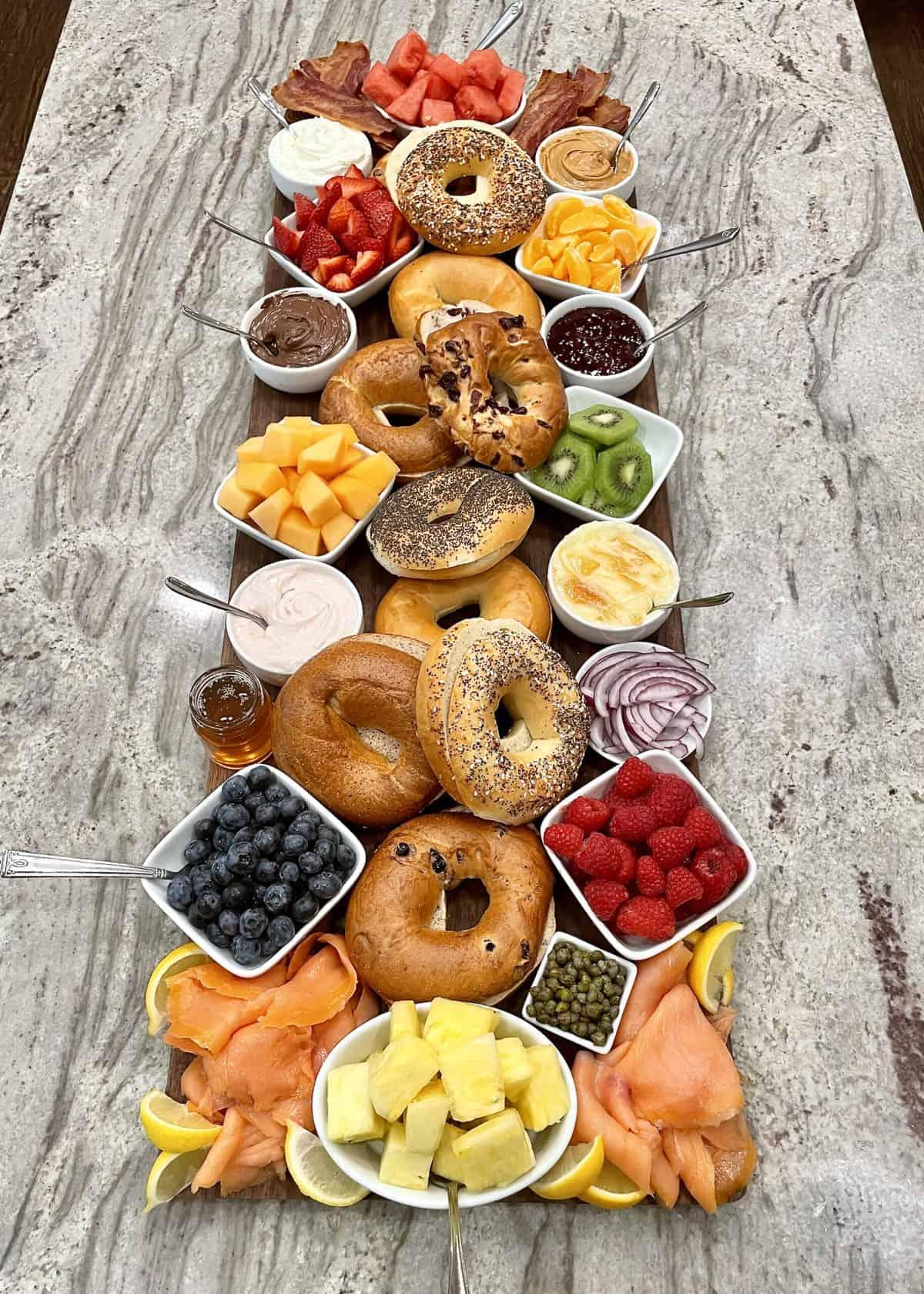 Bagel Board by The BakerMama