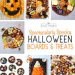 Spectacularly Spooky Halloween Boards and Treats