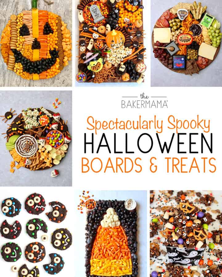 Halloween Boards and Treats by The BakerMama