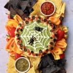 Spiderweb Seven Layer Dip Board