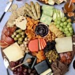Halloween Cheese Board by The BakerMama