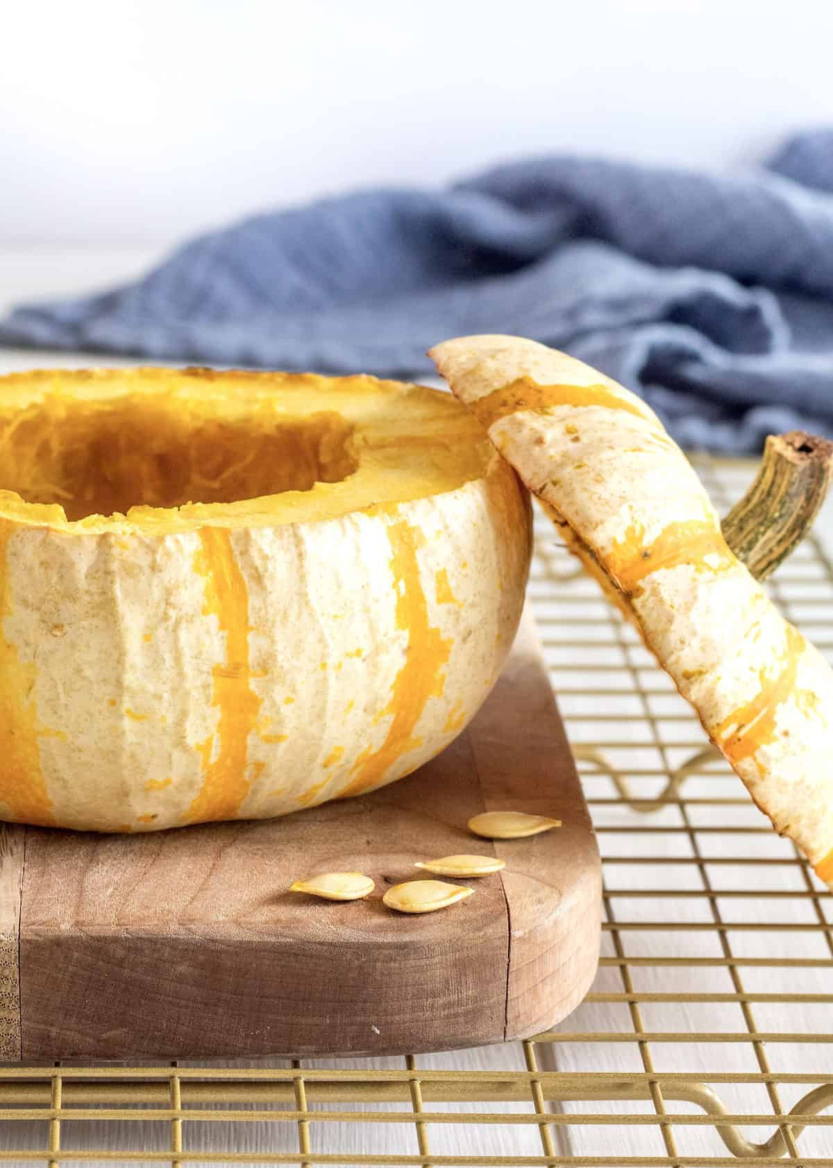 How to Bake a Pumpkin Bowl by The BakerMama